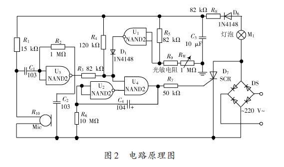 此电路既可以用三极管实现,也可以用4000系列的数字集成实现,出于简单