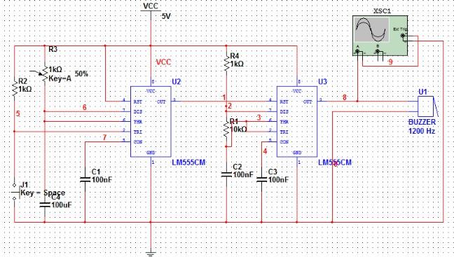 用万用表测量蜂鸣器两端电压,电压为零.