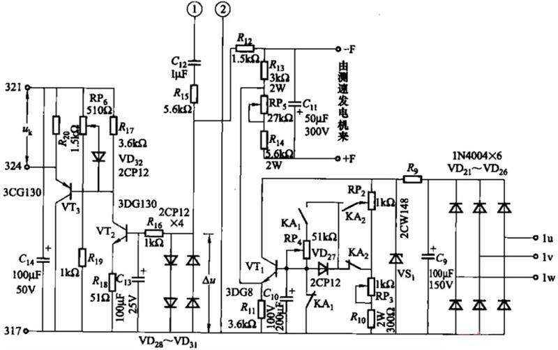kzs10系列的放大,反馈电路图