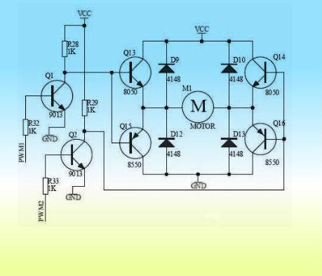基于较大功率的直流电机h桥驱动电路方案【库ic网()