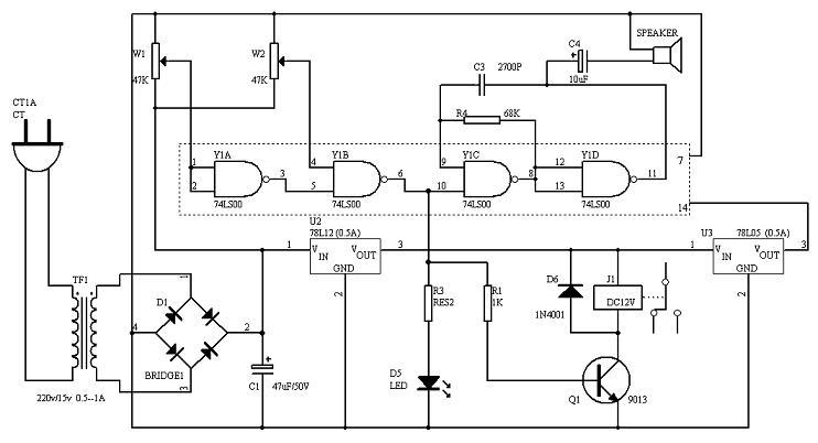 电源欠压过压报警保护器设计与实现【库ic网(qooic)