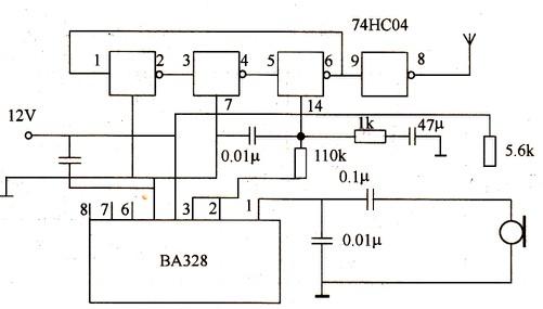 无线话筒电路设计原理【库ic网(qooic)】