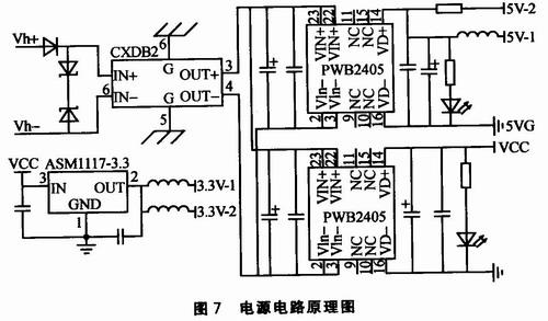 3v-2为单片机最小控制电路提供数字电源