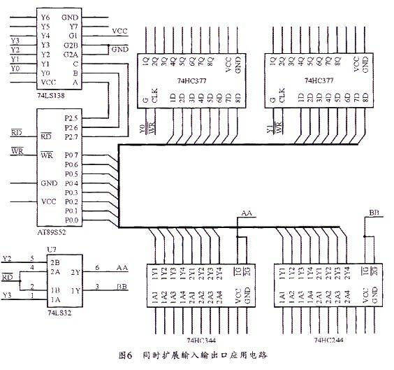 探究mcs-51单片机p0口扩展技术