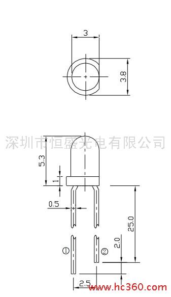 供应红外线发射与接收对管tbbb30/fbcb30