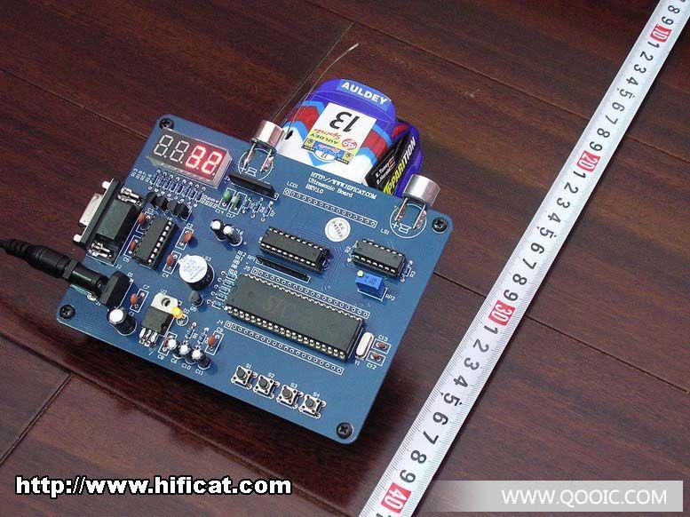 超声波学习板; 超声波测距电路图