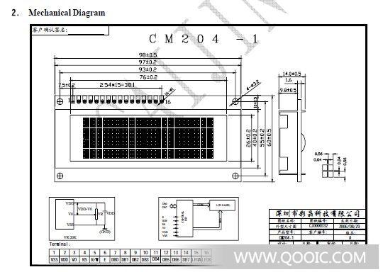 lcd1602电路图串口去并口差别