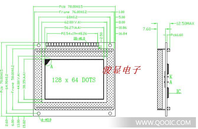 是否提供加工定制 是 种类 LCD触摸屏(模块) 屏幕尺寸 5.8(英寸) 色彩 单色 亮度 高亮 对比度 6 分辨率 320*240 像素 320*240 点距 0.04(mm) 可视角度 6.00(°) 带中文字库:RA8806控制IC 外形图 接口定义 规格简介:JM320240A (5.7寸)外型尺寸:160.0 mm×109.