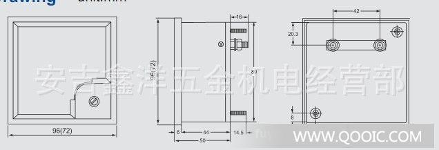 供应指针式电流测量仪表sf-72交流电流表