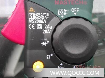 供应成都数字钳形表 交流电流数字钳型表ms2008a 成都万用表