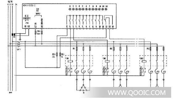 检测数据  检测电压和电流值