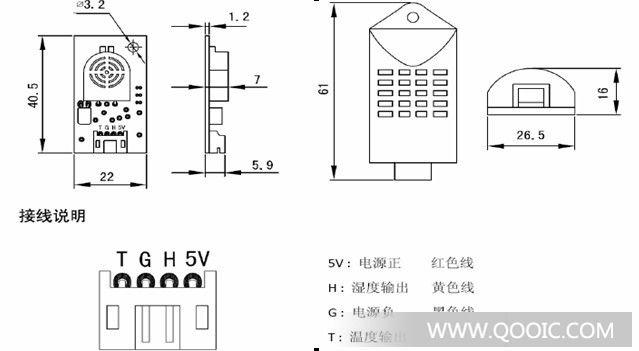 供应电阻型温湿度模块