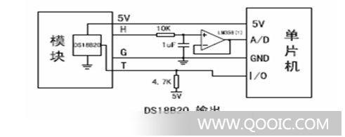 温度传感器电路图的符号