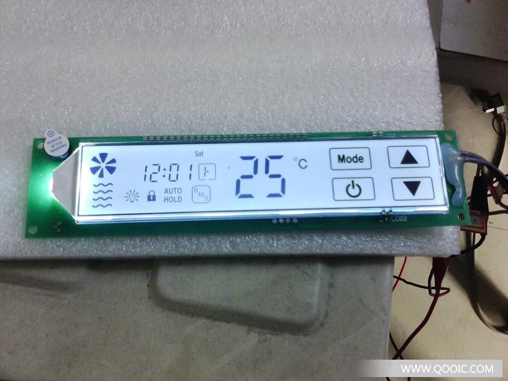 供应本厂直供智能鱼缸控制器lcd触摸一体显示屏