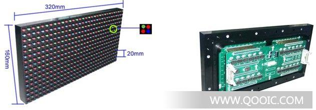 供应led单元板_p20全彩模组_p20