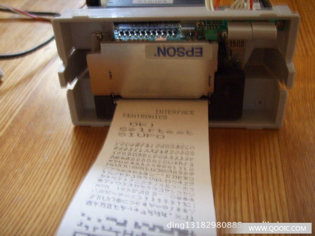 通过中国石化检测的-加油机专用oem高速热敏打印机