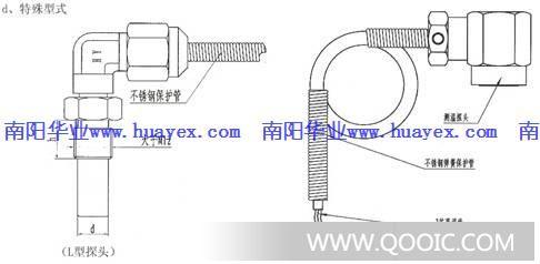 (三)铠装式热电阻