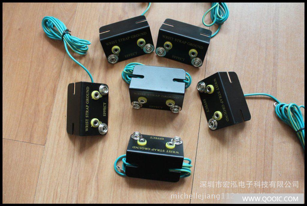 【厂家】防静电接地线插座 手腕带插座 其他连接器 市