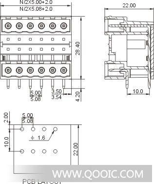 供应接线端子2edgrh-5.0/5.08
