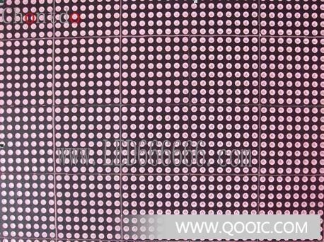 恒流驱动电路的器件采用dm13a是专门led电子显示屏设计的恒流驱动集成