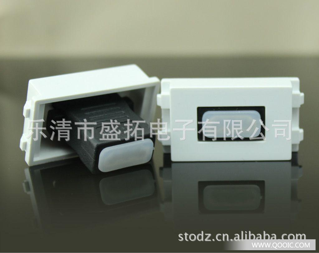 加工定制:是 额定电流:1(A) 环境温度:1() 壳体材质:PC 导电体材质:铜 规格:免焊(VGA+音频)面板 【产品名称】 空白模块【产品尺寸】 23mmX36mm【产品说明】填充空白的塑料模块,本模块可以在本公司86型和120型面板中通用 【产品名称】 HDMI模块(弯角、直角)【产品尺寸】 23mmX36mm【产品说明】支持一组HDMI信号传输,本模块可以在本公司86型和120型面板中通用 【产品名称】 电话模块【产品尺寸】 23mmX36mm【产品说明】支持一组电话信号传输,本模块可以在本公司