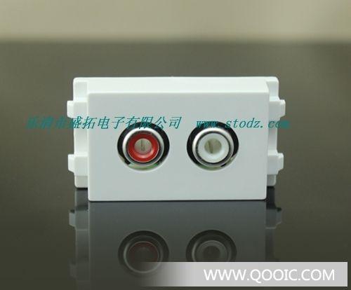 供应vga面板免焊式vga模块vga插座15孔网线插座vga头免焊