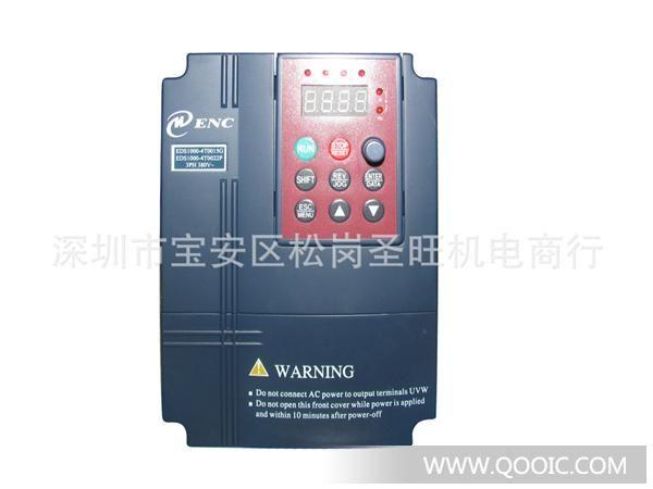 EDS800系列变频器采用先进的控制方式实现了高转矩、高精度、宽调速驱动,能够满足通用变频器的各种要求。EDS800是将客户通用需求与行业性需求有机结合的产品,为客户提供了实用的PID调节器、简易的PLC、可编程的输入输出端子控制、远程同步控制、脉冲频率给定和其它专用变频器控制等多种强大的功能,为设备制造业和自动化工程的广大客户提供高集成度的一体化解决方案,对降低系统成本,提高系统可靠性具有很高的价值。 EDS800系列产品特点: 1.
