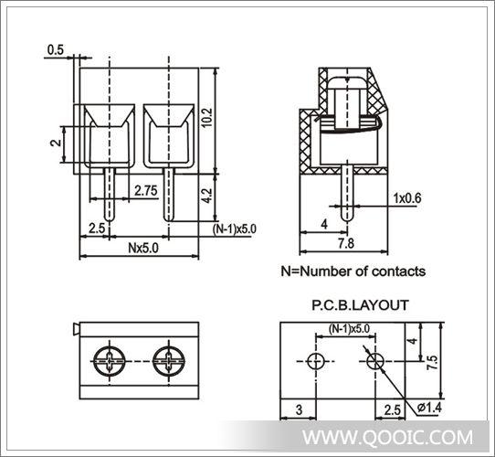 接线端子kf126直针