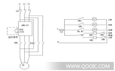 供分散机搅拌机用变频器amb-g7-075g-t3l 安邦信amb总