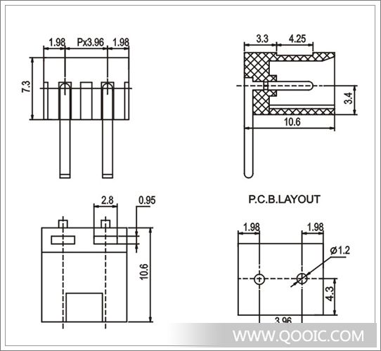 电路 电路图 电子 工程图 平面图 原理图 542_500