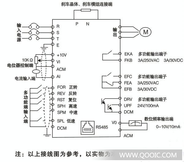 台安n2 220v1.5kw电路图