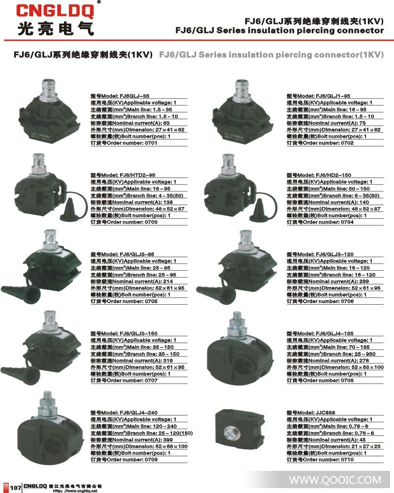 加工定制:是 品牌:国产 型号:fj6/glj 应用范围:电缆 种类:线束/连接