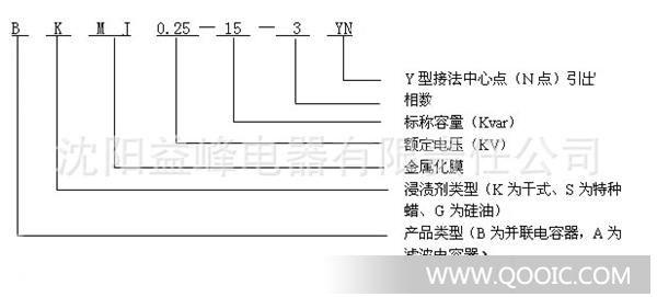 分相补偿电容器 bkmj bsmj 0.25-10-3yn