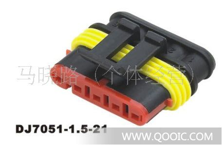 供应汽车氧传感器接插件,汽车连接器,安普(amp)连接器,hid连接器插头