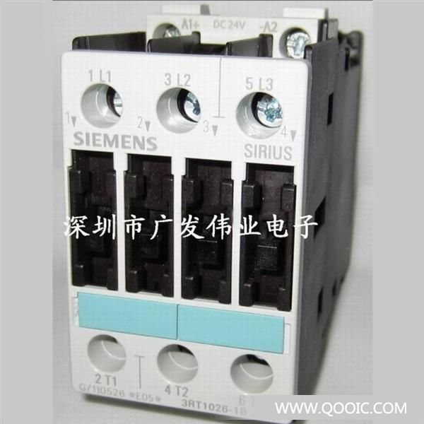 西门子接触器 3TF2001-6BB4CONTACTOR, SIZE 00, 3-POLEAC-3, 4KW/400V,SOLDER-PIN CONN.SCREW MOUNTING (DIAGONAL)AUXILIARY CONTACT 01E (1NC)DC SOLENOID SYSTEM DC 24V 供应全新原装各种IC集成电路,二三极管,电容电阻,电感,接触器,继电器,保险管,等各种电子元器件,原装现货低价,欢迎查询!