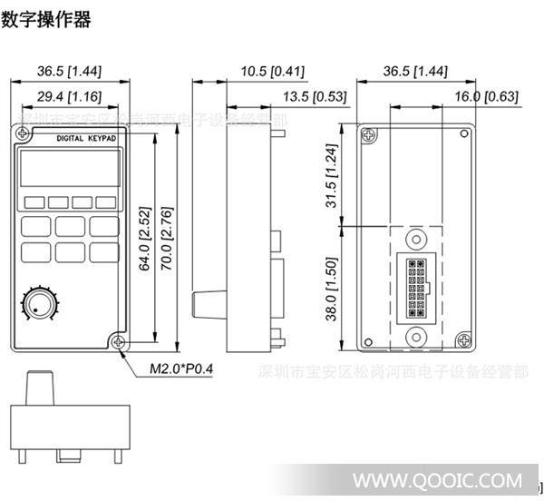m系列台达变频器,单相通用型vfd007m21a,vfd-m,m系列面板