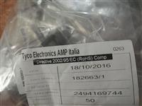 AMP/TE/泰科182663-1 电路连接器后壳和夹具